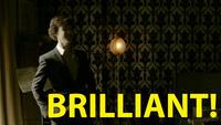 Sherlock BRILLIANT! gif by SherlocksScarf