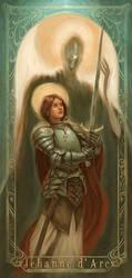 Joan Of Arc- Juana de Arco by Giacobino
