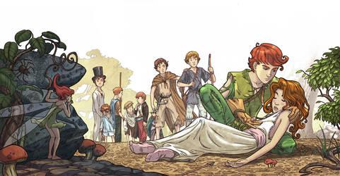 Peter Pan _ part 2 by Giacobino
