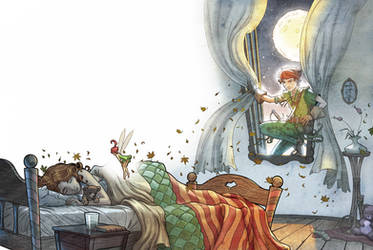 Peter Pan   -    Part 2 by Giacobino