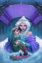 The Snow Queen _ La Reina de las Nieves by Giacobino