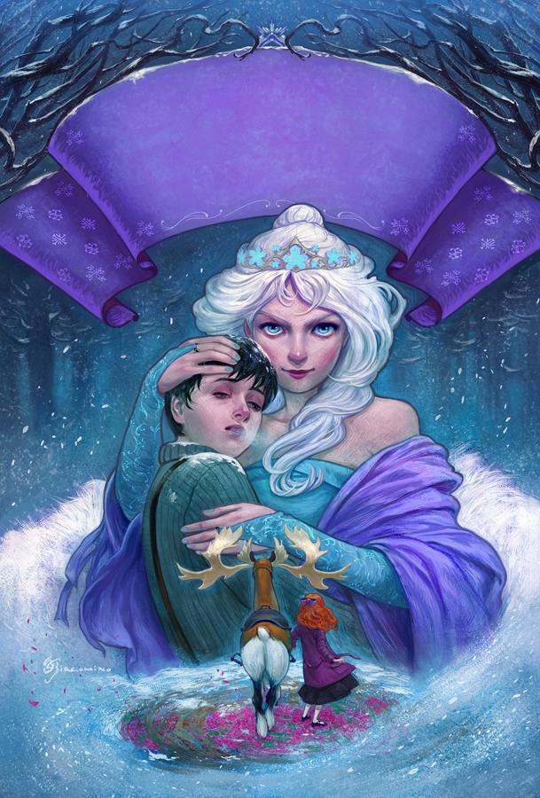 the snow queen_The Snow Queen _ La Reina de las Nieves by Giacobino on DeviantArt