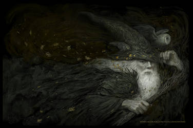 Gandalf by Giacobino