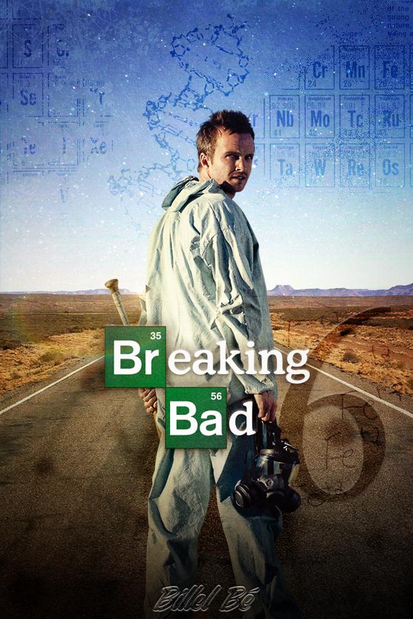 Breaking Bad Season 6 cover fanmade by BillelBe on deviantART