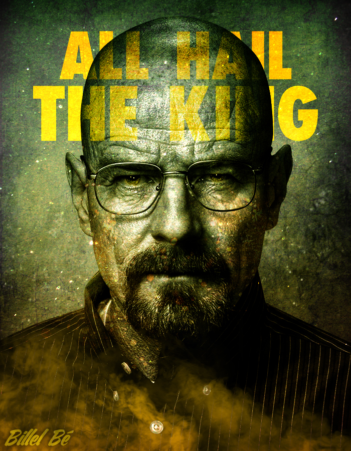 Breaking bad all hail the king by billelbe on deviantart breaking bad all hail the king by billelbe voltagebd Gallery