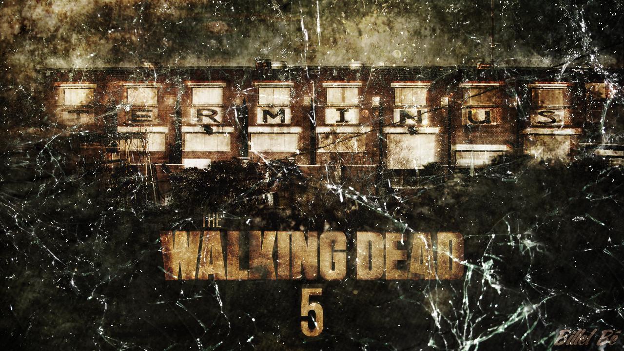 The Walking Dead Season 5 Fan Made Cover V2 By Billelbe On