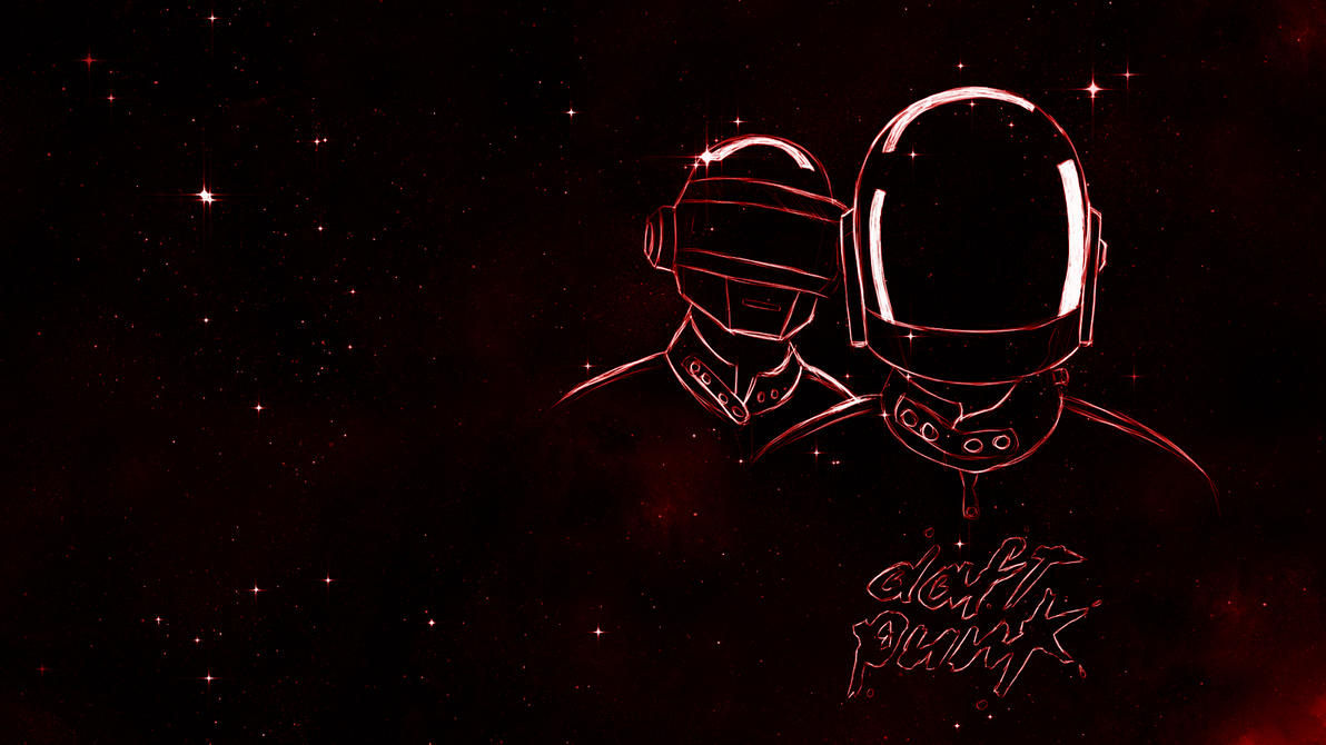 Daft Punk Wallpaper 3 by BillelBe on DeviantArt