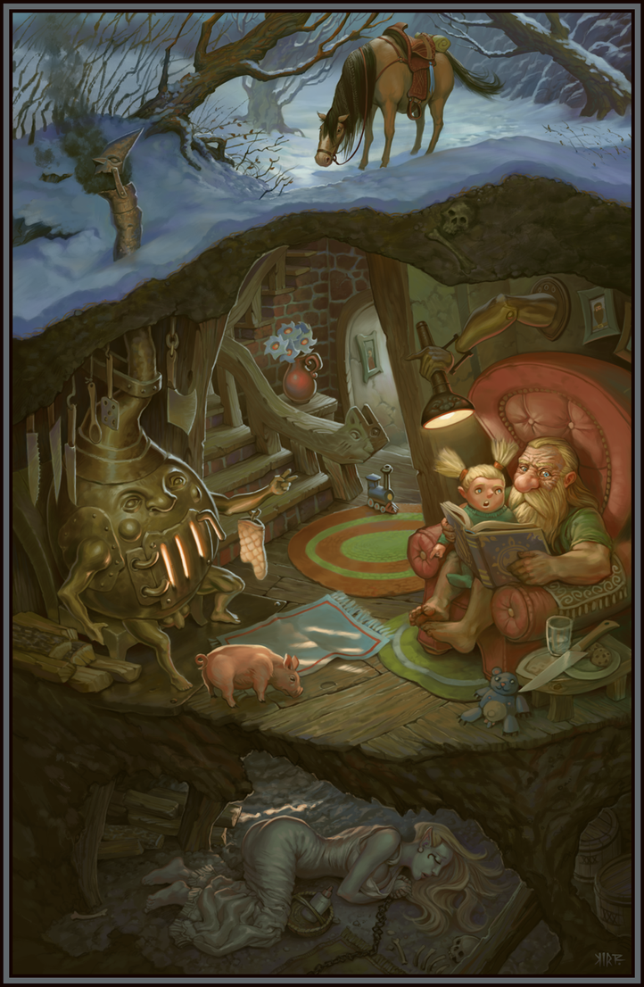 Pappy's Basement by JonathanKirtz