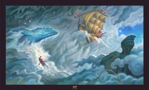 Mist Whalers by JonathanKirtz