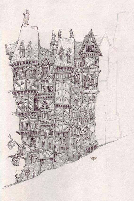 Зарисовки от Jonathan Kirtz