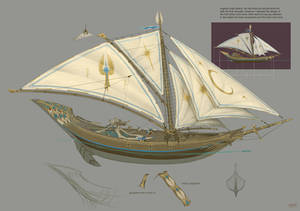 High Elf Ship