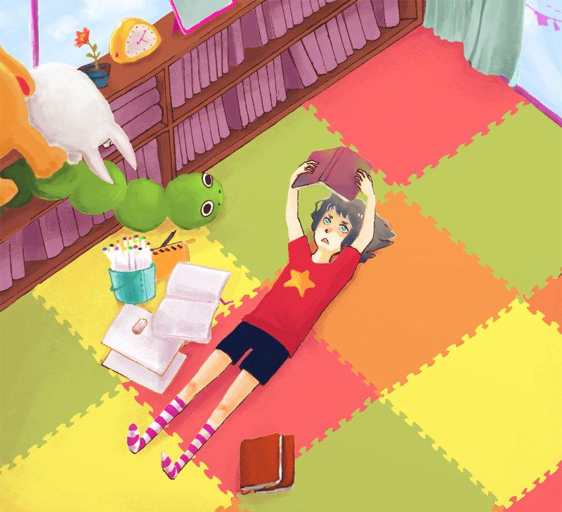Puzzle Mats yay! by doodlestiltskin