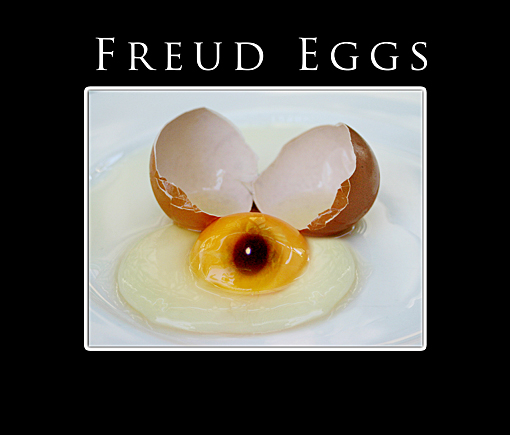 Freud Eggs by cristiantownsend