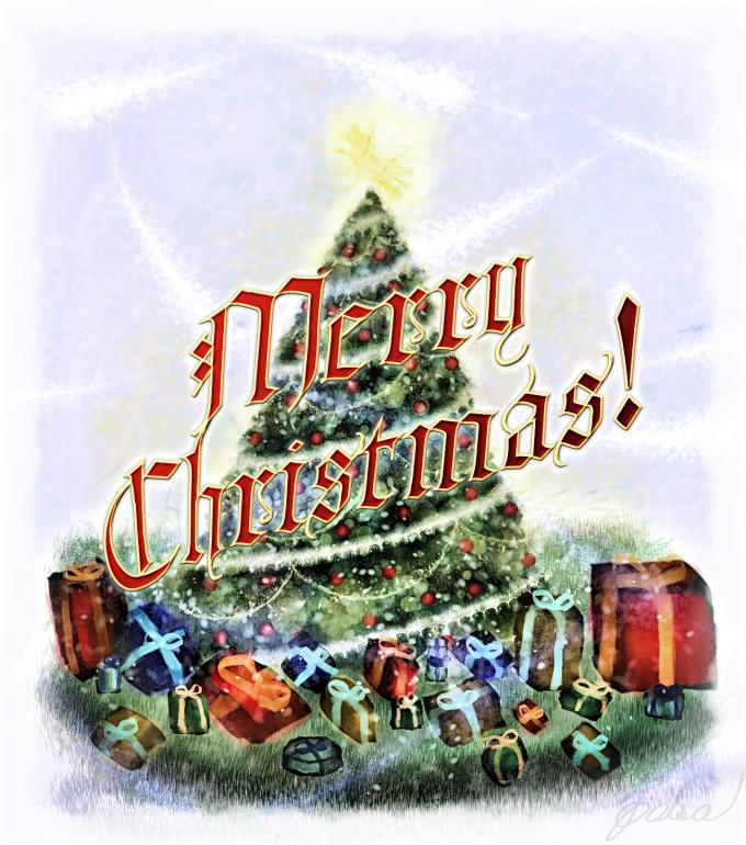 Merry Christmas! by Metalraptor