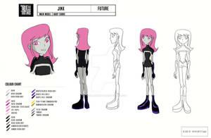 Jinx - Teen Titans (Model Sheet) (Future)