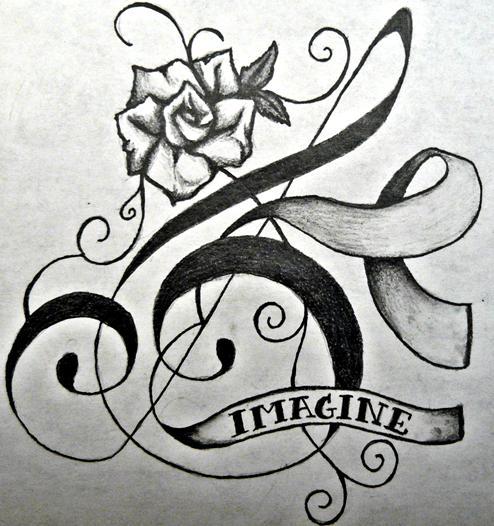treble clef tattoo design by musicalparody on deviantart. Black Bedroom Furniture Sets. Home Design Ideas