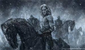 White Walker Jon Snow