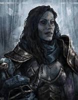 Lady Blaumeux by Wuika