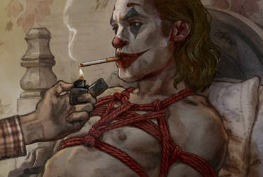 Joker tied up
