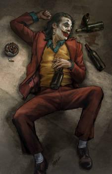 Joker drunk