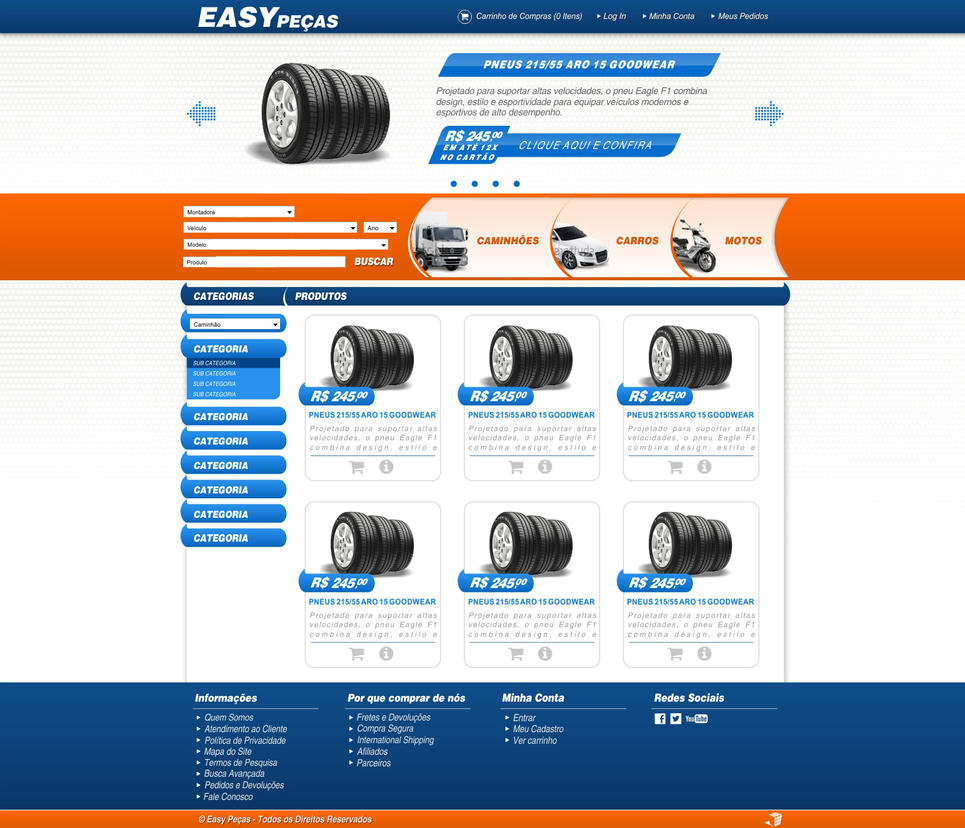 Layout web site online shop v2 by krepuskulun on deviantart for Online shop for website