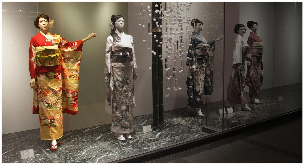 Far eastern asian style clothing