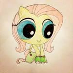 Power Puff Ponies: Fluttershy