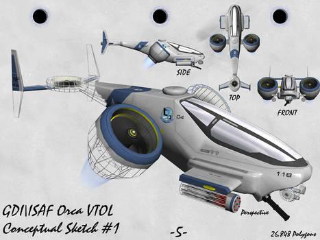 GDI - ISAF Orca VTOL