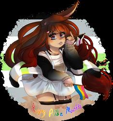 Cissy's pride month doodle