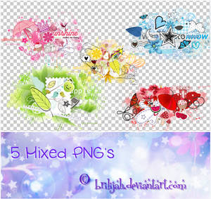Mixed PNG's