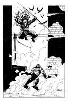 RoboCop vs Predator by Mooneyham