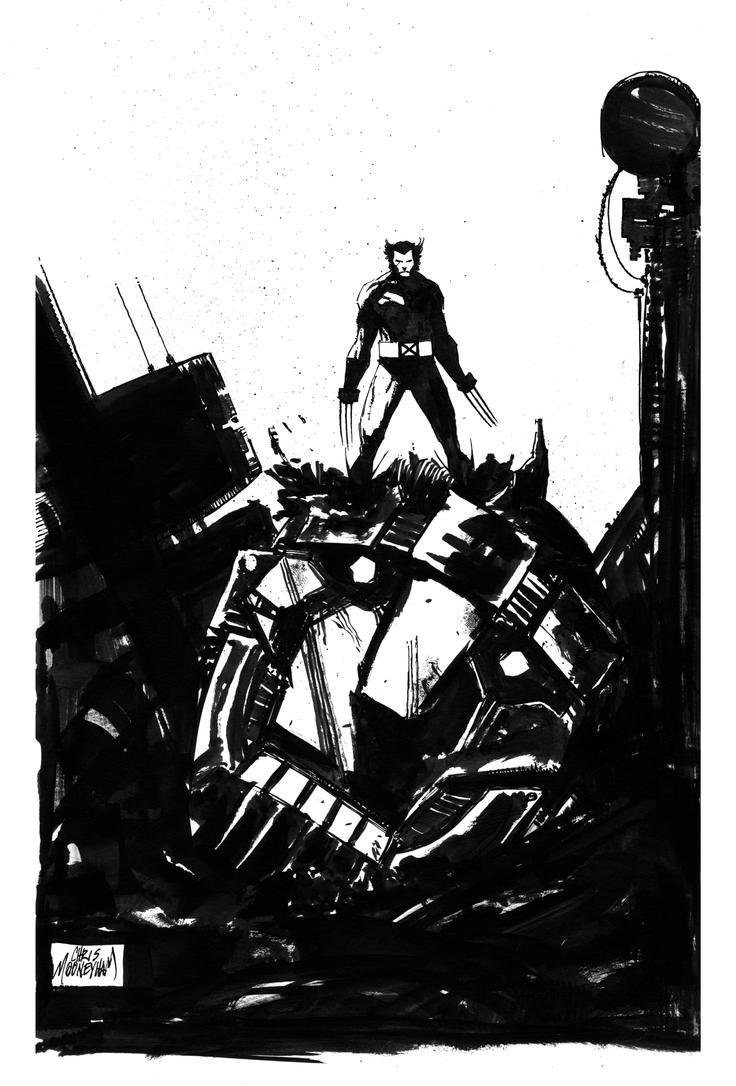 Wolverine by Mooneyham