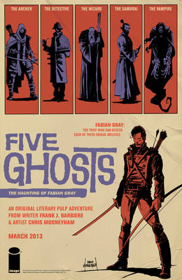 Five Ghosts Ad