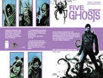 Five Ghosts #1 Cover ECCC Exclusive