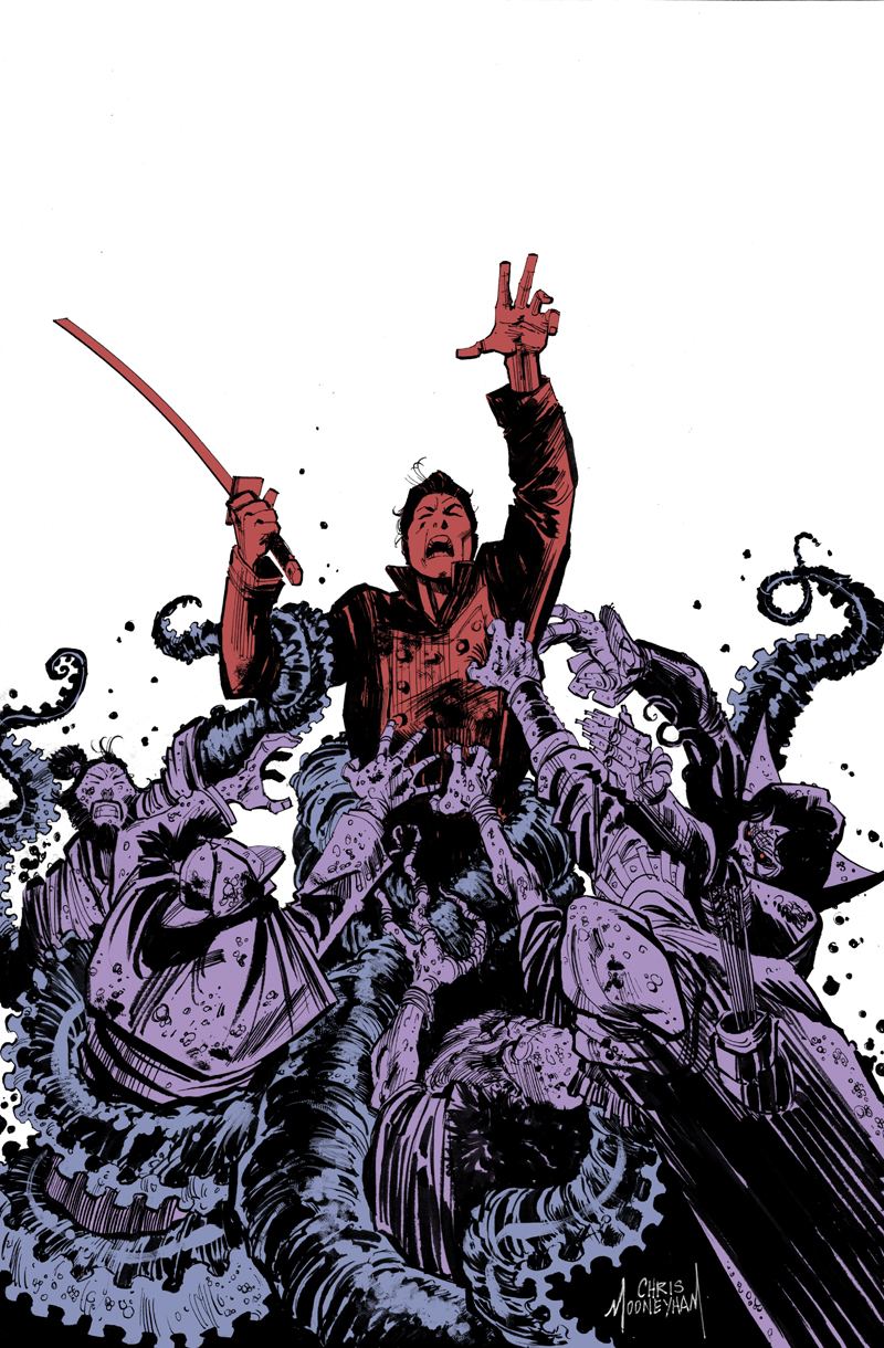 Five Ghosts #4 Cover by Mooneyham