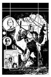 RoboCop Cover inks