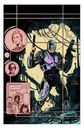 RoboCop Cover Colors
