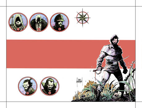 Five Ghosts Volume 2 Cover Colors