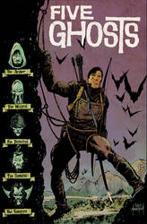 Five Ghosts #13 Colors