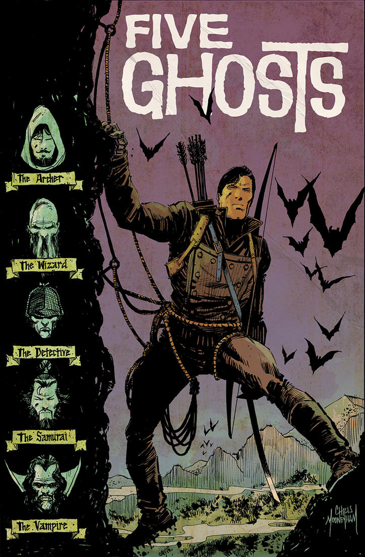 Five Ghosts #13 Colors by Mooneyham