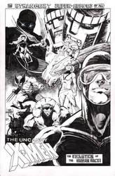 The Uncanny X-Men by Mooneyham