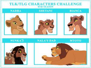 TLK/TLG Characters Challenge
