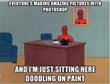Spiderman meme by Anonymous-Kuro