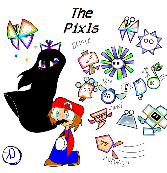 The Pixls by KD476 on DeviantArt