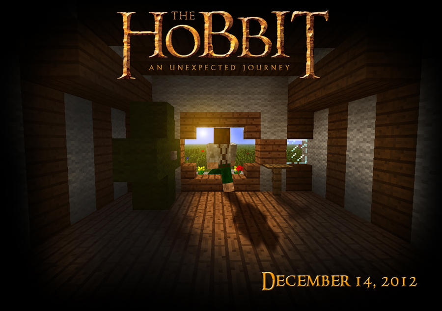 The Hobbit - A Minecraft Poster by Artheleon on DeviantArt: artheleon.deviantart.com/art/The-Hobbit-A-Minecraft-Poster-321132782