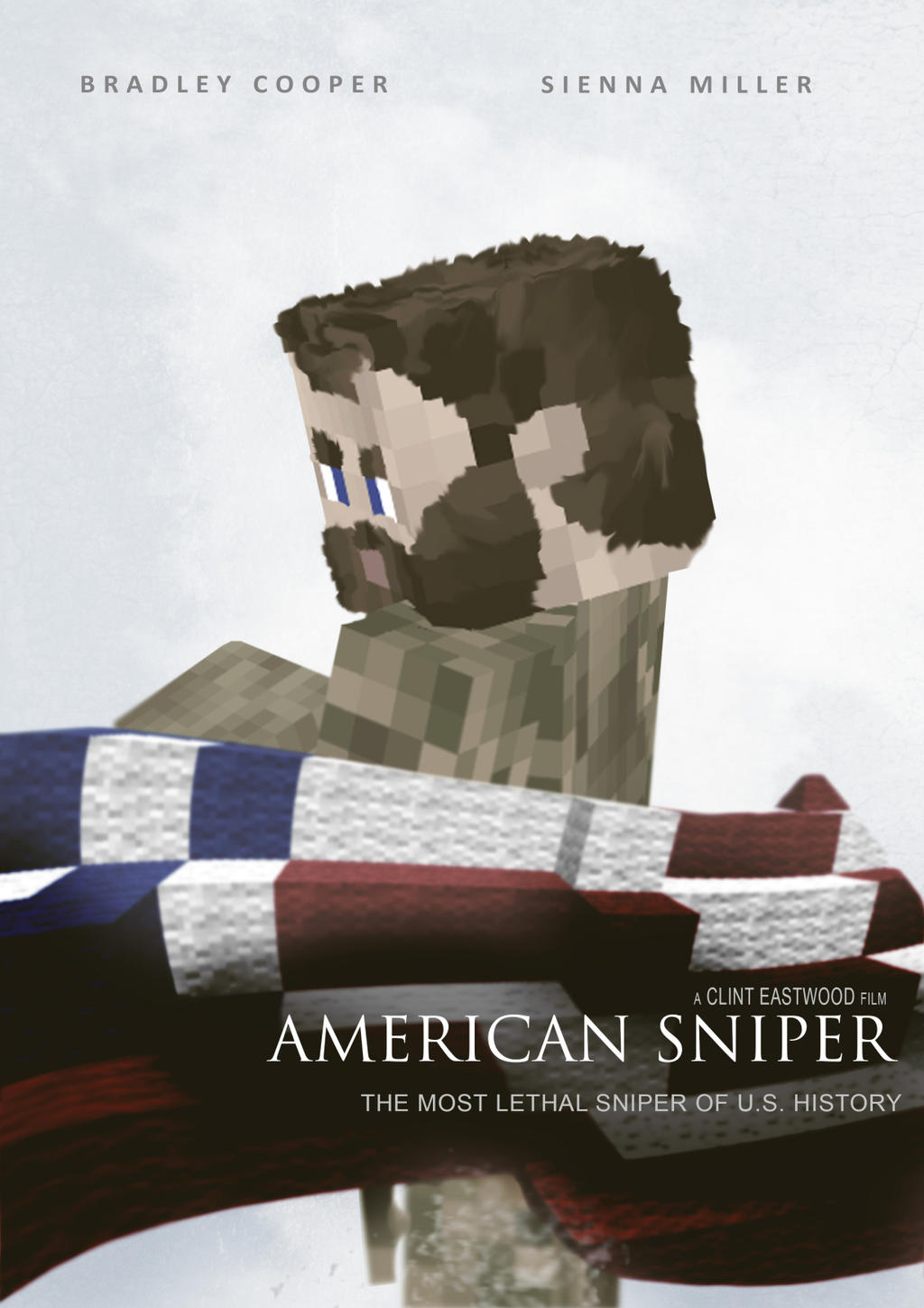American Sniper - A Minecraft Poster by Artheleon on DeviantArt
