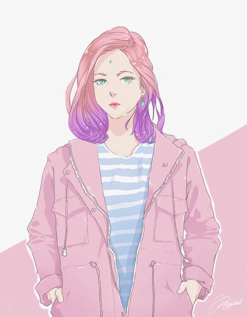 Sakura Haruno Modern Style By Erikyant On Deviantart