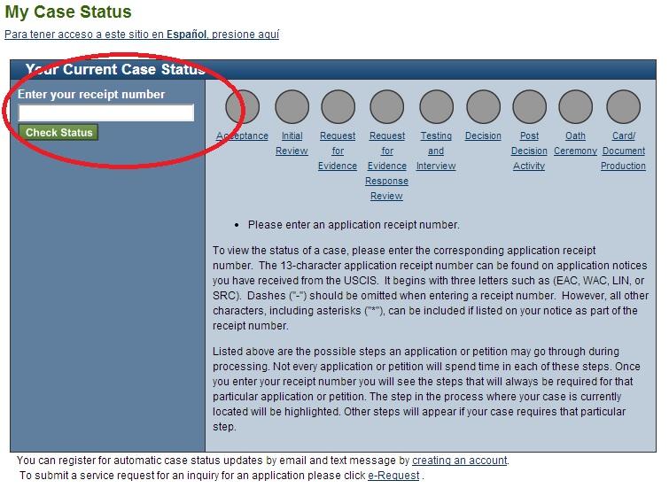USCIS Case Status System Updated Online by Anfinsen on DeviantArt