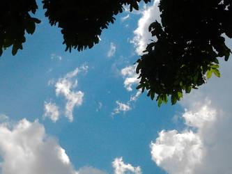 Cloudy Blue by Skyelher