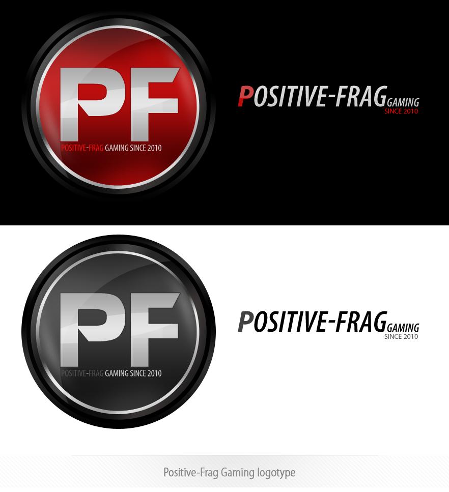 Positive-Frag Gaming logotype